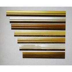 Burlete Adhesivo Aluminio Roble 92 Cm. 127520 Unidad