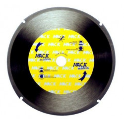 Disco Tronzador Madera 230 Mm. Mack-230 Unidad