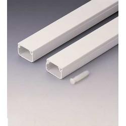 Canaleta Adhesiva Paquete 15 Pzas. Blanco 25x16 2602-2g Unid
