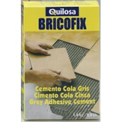 Cemento Cola Gris Bricofix 1,5kg 88104