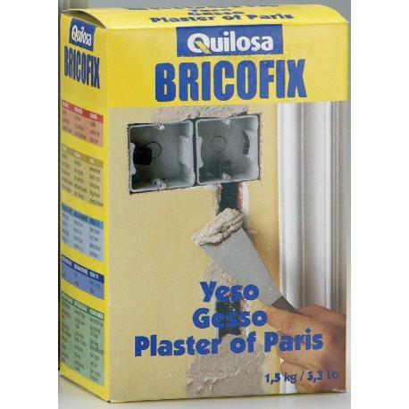 Yeso Para Interiores Y Tendidos Caja 1,5kg Bricofix 88245