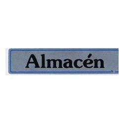 """Placa """"almacen"""" Aluminio A21 Unidad"""
