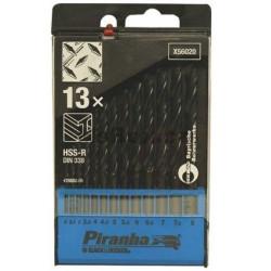 Broca P/metal Hss-r 2 A 8mm Cassete De 13pz X56020 Dewalt