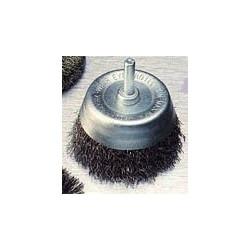 Cepillo Alambre Copa 50mm Para Taladro Uso Metal X36030 Pira