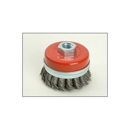 Cepillo Alambre Copa 65mm Para Amoladora Uso Metalx36080