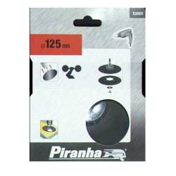 Plato Soporte De Goma 125mm Para Taladro X32031 Piranha