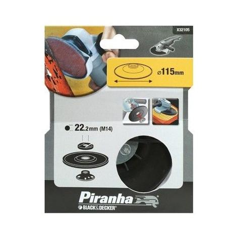 Plato Soporte De Nylon 115mm Para Amoladora X32105 Piranha