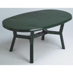 Mesa Oval.170x95 Verde 4070v