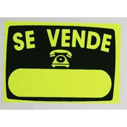 "Cartel""se Vende""radiante 50x70 V8 Unidad"