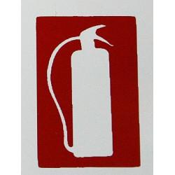 Placa Fotoluminiscente  Extintor Ef6 Unidad