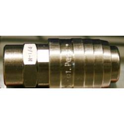 Enchufe Rapido Rosca Hembra 1/4 Cd-25n-h 1/4 Unidad