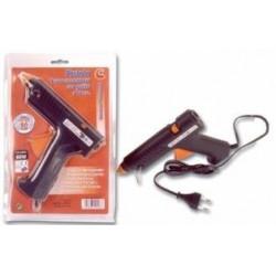 Pistola Encolar C/gatillo,soporte Y 2barras Adhe 80 W. Poten