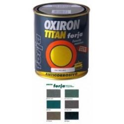 Esmalte P/metal Forja Negro 4 Litros Oxiron Titan 020020404