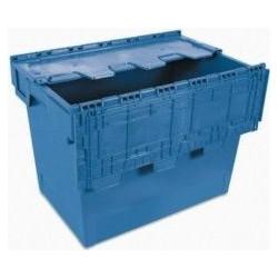 Envase - Azul 60x40x44 267000 Cesto Grande C/tapa