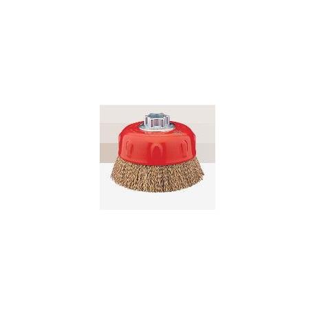 Cepillo Taza Acero Ltdo 100mm 0,3mm P/amoladora To 1000e M14
