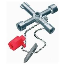 Llave Para Cabina Control(gas,agua Y Electricidad) 001103