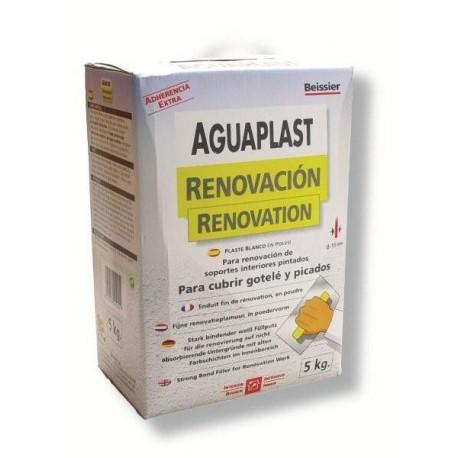 Plaste Aguaplast Renovacion Blanco Interior Estuche 5kg 806