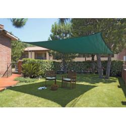 Malla Sombreadora Sun Net Kit 3,6x3,6mts Cuadrada Verde