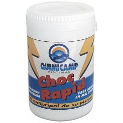 Cloro Rapido Granulado Bote 0,5kg 202501 Quimicamp