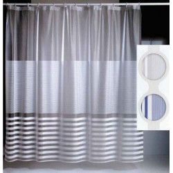 Cortina Plastico 237 180x180 Blanco 02658
