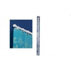 Barra Cort Baño 140/250cm Recta Bl Ext Recta Tatay