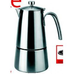 Cafetera Expres 6tazas Hyperluxe Acero Inox 62206