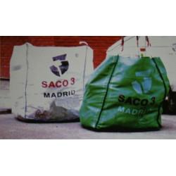Saco Escombro 1 Metro Cubico Con Recogida Saco 3