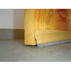 Burlete Adhesivo Flecos Pvc 94cm.roble 127320