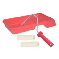 Cubeta+rodillo+2 Recambios Kit 4pz.barnizar-esmaltar K900018