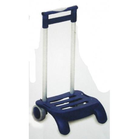 Comprar carro colegial plegable azul aluminio r142 en - Carro plegable aluminio ...