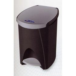 Cubo de Basura Pedal 7lt Plata 6407