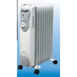 Radiador Elec Aceite 05 Elementos 1000w Vivahogar
