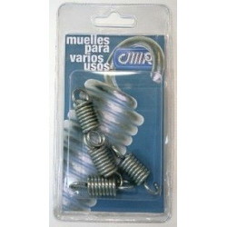 Muelle 2,5x15x50-10v 4pz.2141 Blister