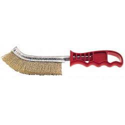 Cepillo Manual Acero Latonado M/plastico 1 Hilera 116cg Feci