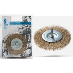 Cepillo Circular Acero Ltdo 100mm 0,3mm P/taladro Be1030d Bl