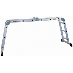 Escalera Articulada 3+3+3+3peld. Aluminio Ref 313