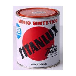 Minio Sintetico Sin Plomo Titanlux Naranja 125ml 062304018