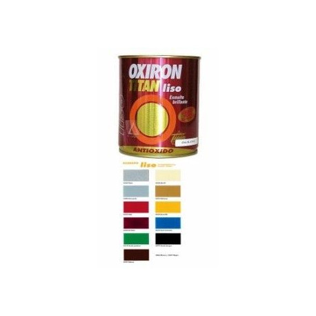 Esmalte P/metal Antiox Bri Blanco 4lts Oxiron Liso 02c456604