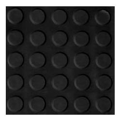 Pavimento Goma Negro 1mx10mx3mm 99030002