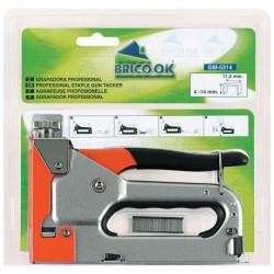 Grapadora Manual Grapa 53/530/jt21/t3 Gm-5314 Brico Ok