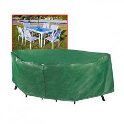 Funda Cubre Mesa+sillas 173x215x90cm Pvc Verde Ty914