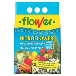 Abono Solido Poliv. Azul Nitroflower 2.5 Kg 1-10529 Flower