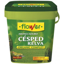 Abono Cesped Complet-n 4 Kgs.  Cubo 1-10522 Flower