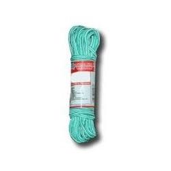 Cuerda Polietileno Trenzada 4mm Blan/verd Madeja 15m Com2002
