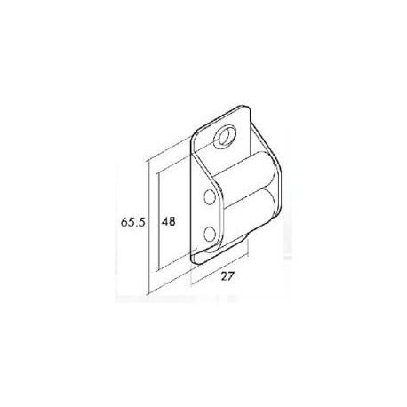 Pasacintas Metalico R/nylon 70050048