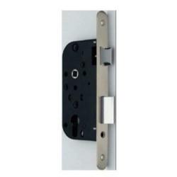 Cerradura Entrada 70mm 1059-r 23x50 Canto Redondo Inox