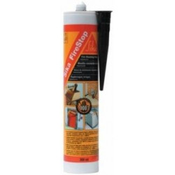 Masilla Refractaria Negra +1000: Cart300 Sika Firestop 89627