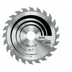 Disco Widia Para Aluminio 190x2,4x30 54 Dientes 2608640509