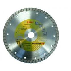Disco Corte G.obra 115x22,2 Mm Turbo Diam Upe-t Bosch