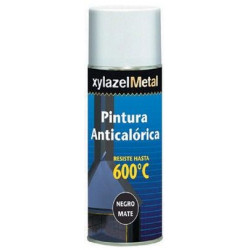 Pintura Anticalorica Hasta 600:c Negra Spray 400ml 6070133
